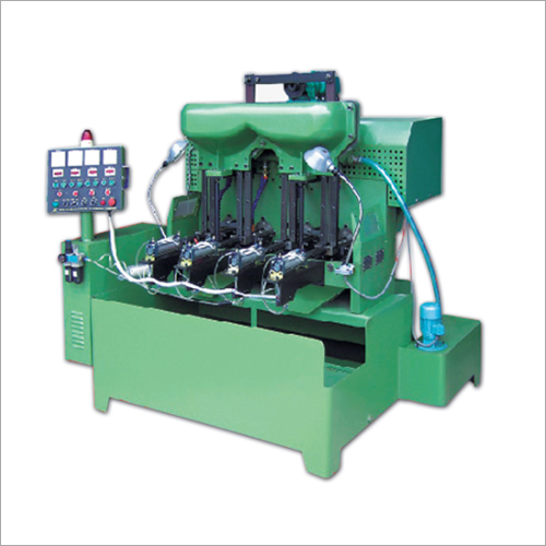 4 Spindle Flange And Hex Nut Tapping Machine