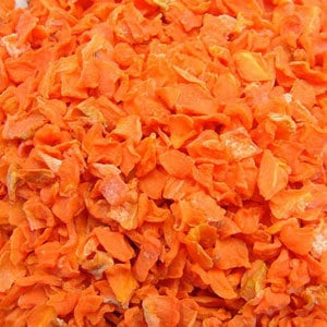 Dehydrated Carrot Cube