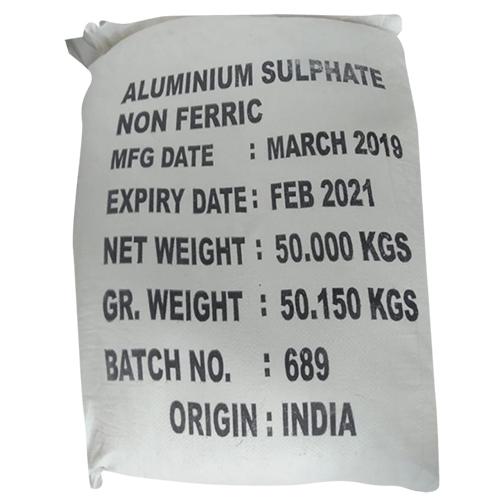 Aluminium Sulphate Powder