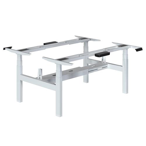 Height Adjustable Desk Back to Back