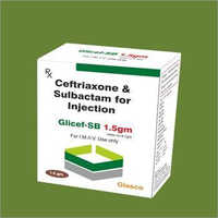 1.5Gm Ceftriaxone And Sulbactam For Injection