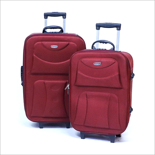 2 Wheel Zipper Trolley Bag