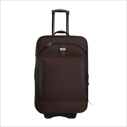 2 Wheel Black Trolley Bag