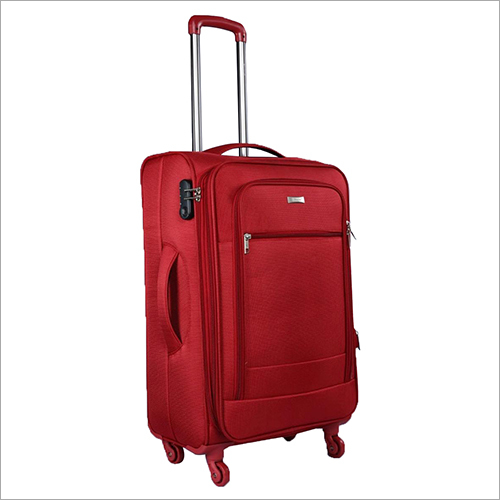 4 Wheel Plain Trolley Bag