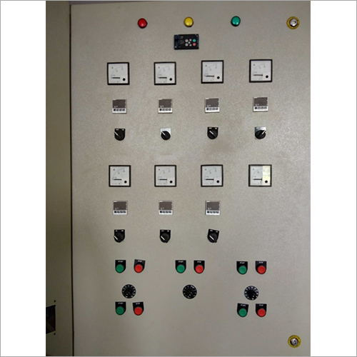 Three Phase Relay Control Panel
