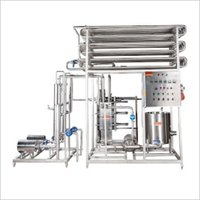 Semi Auto Skid Mounted Curd Milk Plant