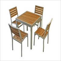 Contemporary Four Seater Dining Set