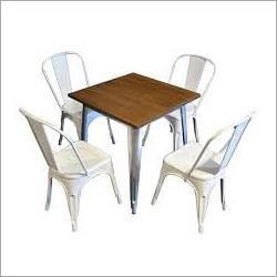 Metal Base Dining Set