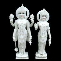 Marble Moorti Laxmi Narayan Statue