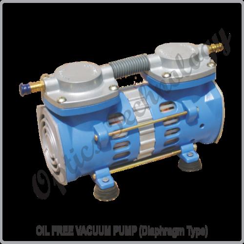 OIL FREE VACUUM PUMP (Diaphragm Type)