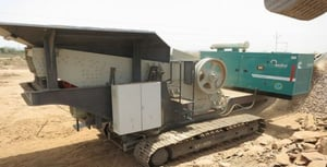 Mobile Crusher on Rent