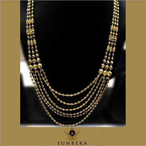 Ladies Bridal 18 K Gold Necklace