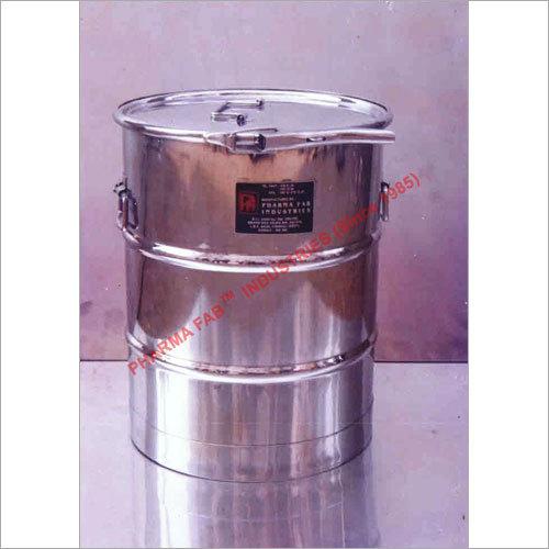 Powder Storage Drum