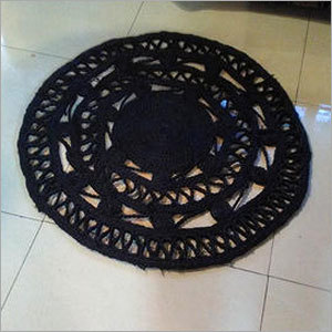 Jute Coaster Black Colour
