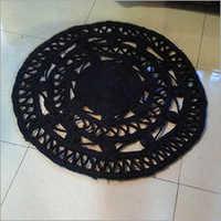 Jute Coaster Black Colour