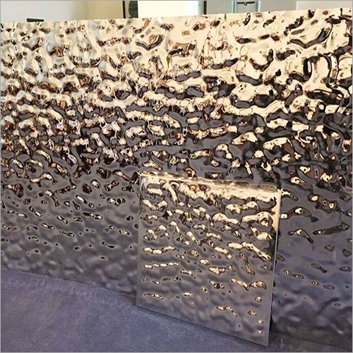 Water Ripple Pattern Mirror Steel Sheet