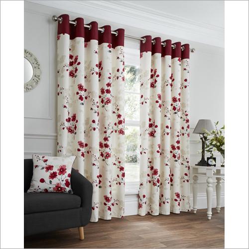 Floral Cotton Curtain