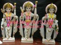 Ram Darbaar Marble  Statue