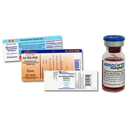 Finish Pharma Label
