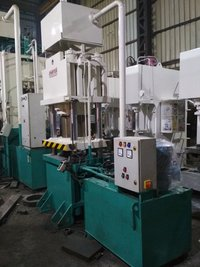 Hydraulic 4 Pillar Press for Cutlery