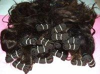 100% Black Indian  Natural  Weft Human Hair Extension