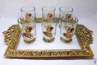 glass tray sait