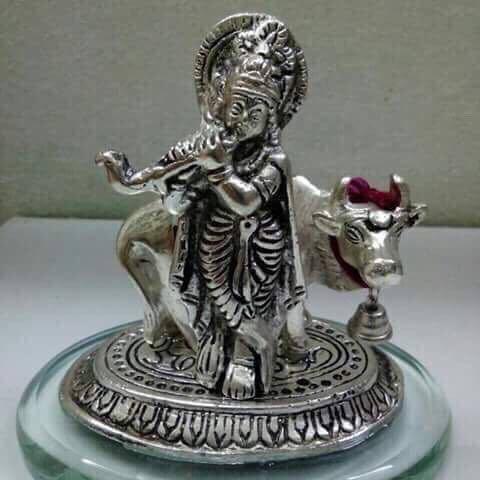 Cow Krishna Mini Status