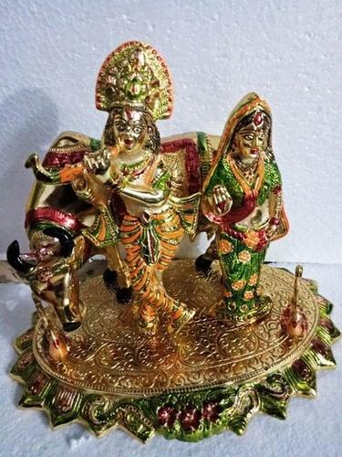 Cow Radha Krishna
