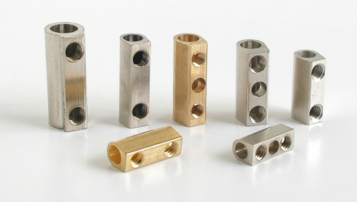 Brass Terminal Two Way Connectors