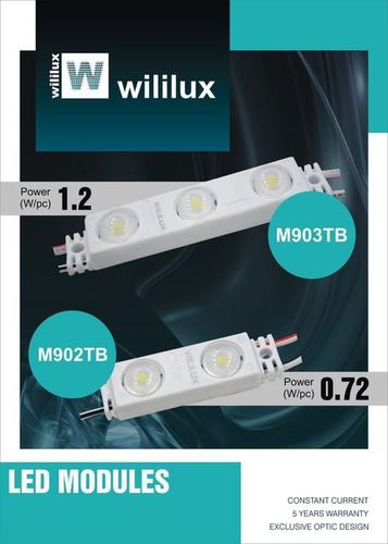 WILILUX LED MODULE & RIGID BAR