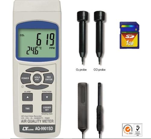 Lutron Air Quality Meter AQ-9901SD