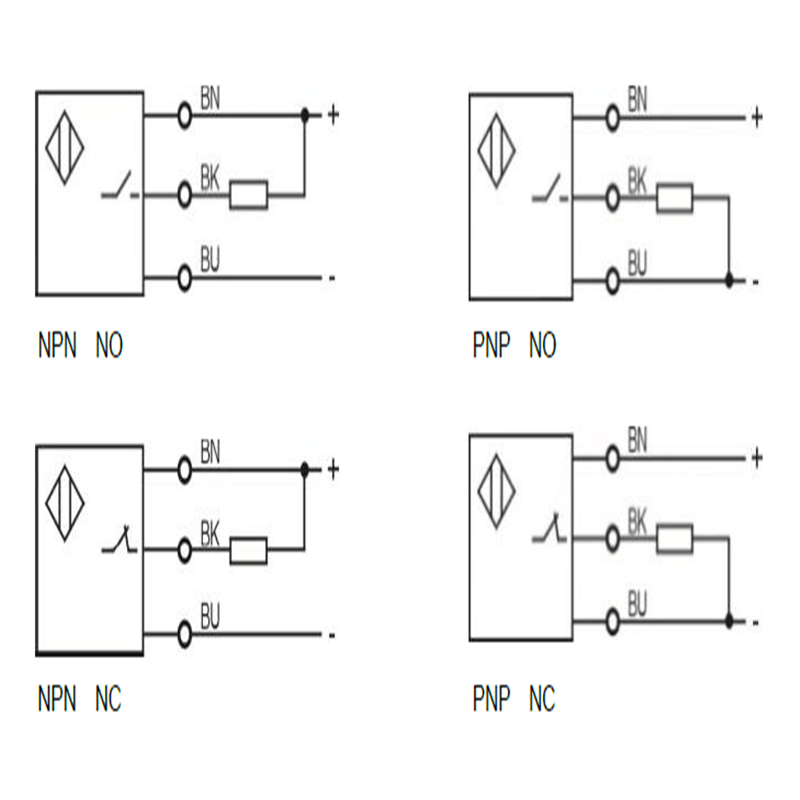 M3 ultra small short inductive proximity sensor shielded long sensing