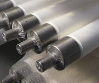Fused Silica Tempering Rollers