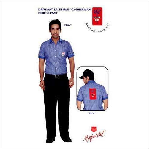 Driveway Salesman & Cashier Man Shirts
