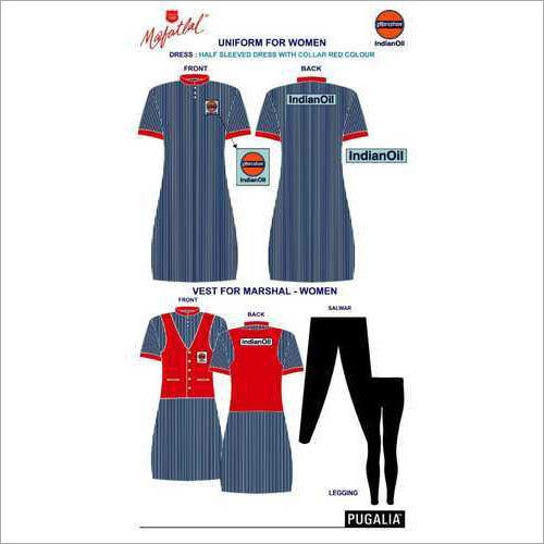 Women Petrol Pump Uniform