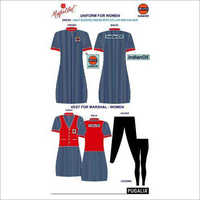 Women Petrol Pump Uniform
