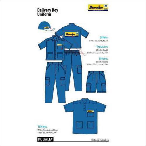 Bharat Gas Delivery Boy Uniform