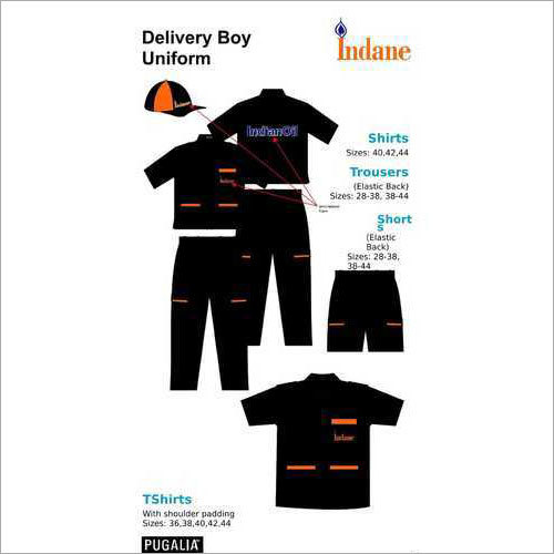 Indane Delivery Boy Uniform