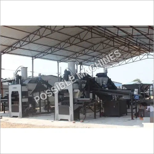 M-50 Grade Paver Blocks Making Machine Plant With Batching System (Double Production Line)