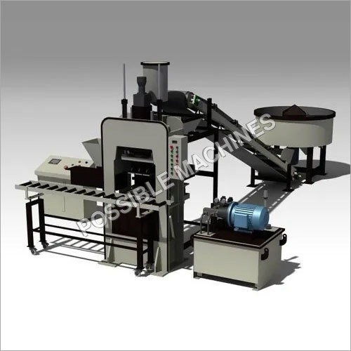PM24 Automatic Fly Ash Brick Making Machine