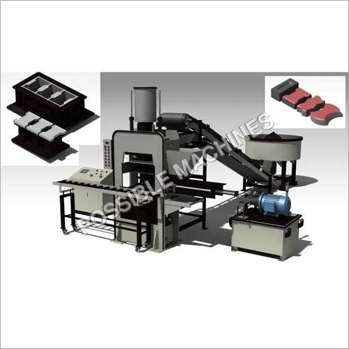 (PMA32) Automatic Paver Blocks / Fly Ash Bricks Making Machine Plant