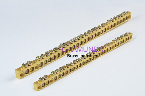 Brass Neutral Earth Bar