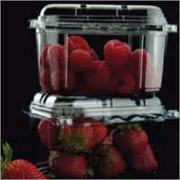 Plastic Transparent Strawberry Tray