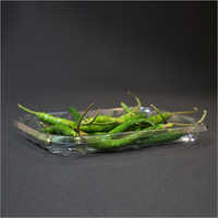 Green Chilli Plastic Packaging Tray