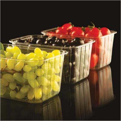 果子塑料透明箱子