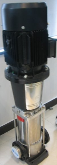 Vertical Multistage Inline Centrifugal Pump