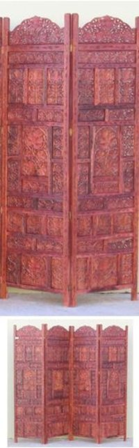 Carved Wooden Screen Fine Work