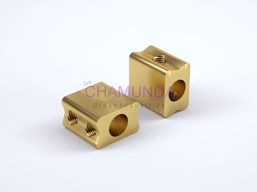 Brass Connector Block