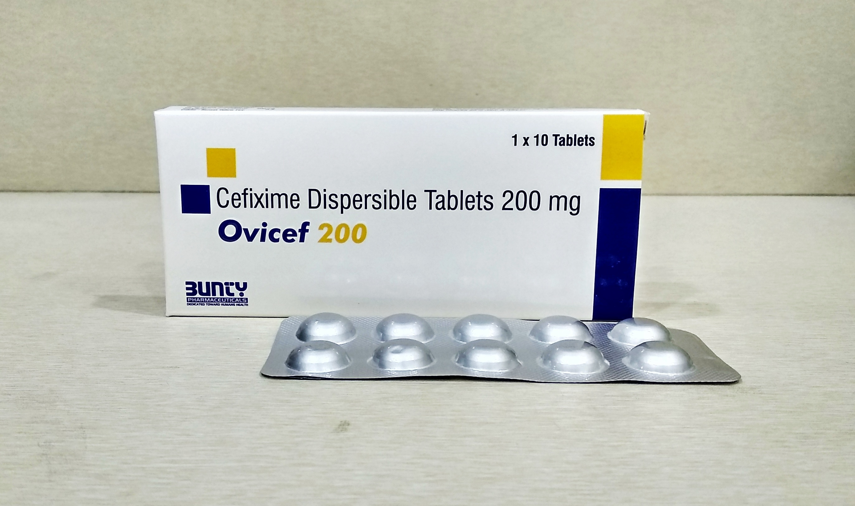 Cefixime Dispersible Tablet 200 Mg