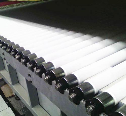 Fused Silica Ceramic Tempering Rollers